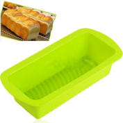 Silicone Bread Loaf Mould Cake Non Stick Bakeware Baking Pan Oven Soap Mould DIY