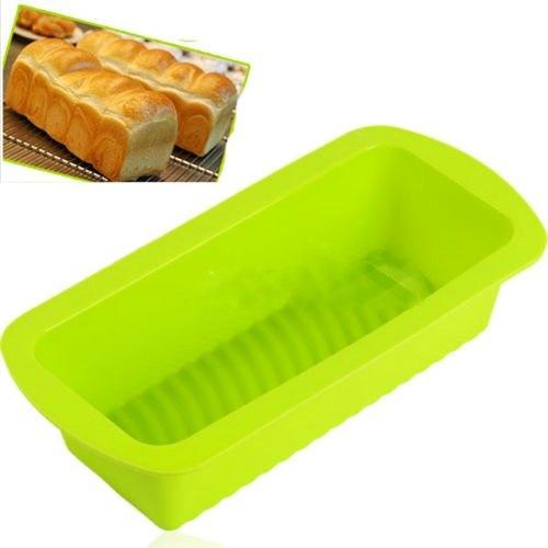 Keraiz Non-Stick Loaf Pan, Tinplate, Black, 0 5kg Tin by