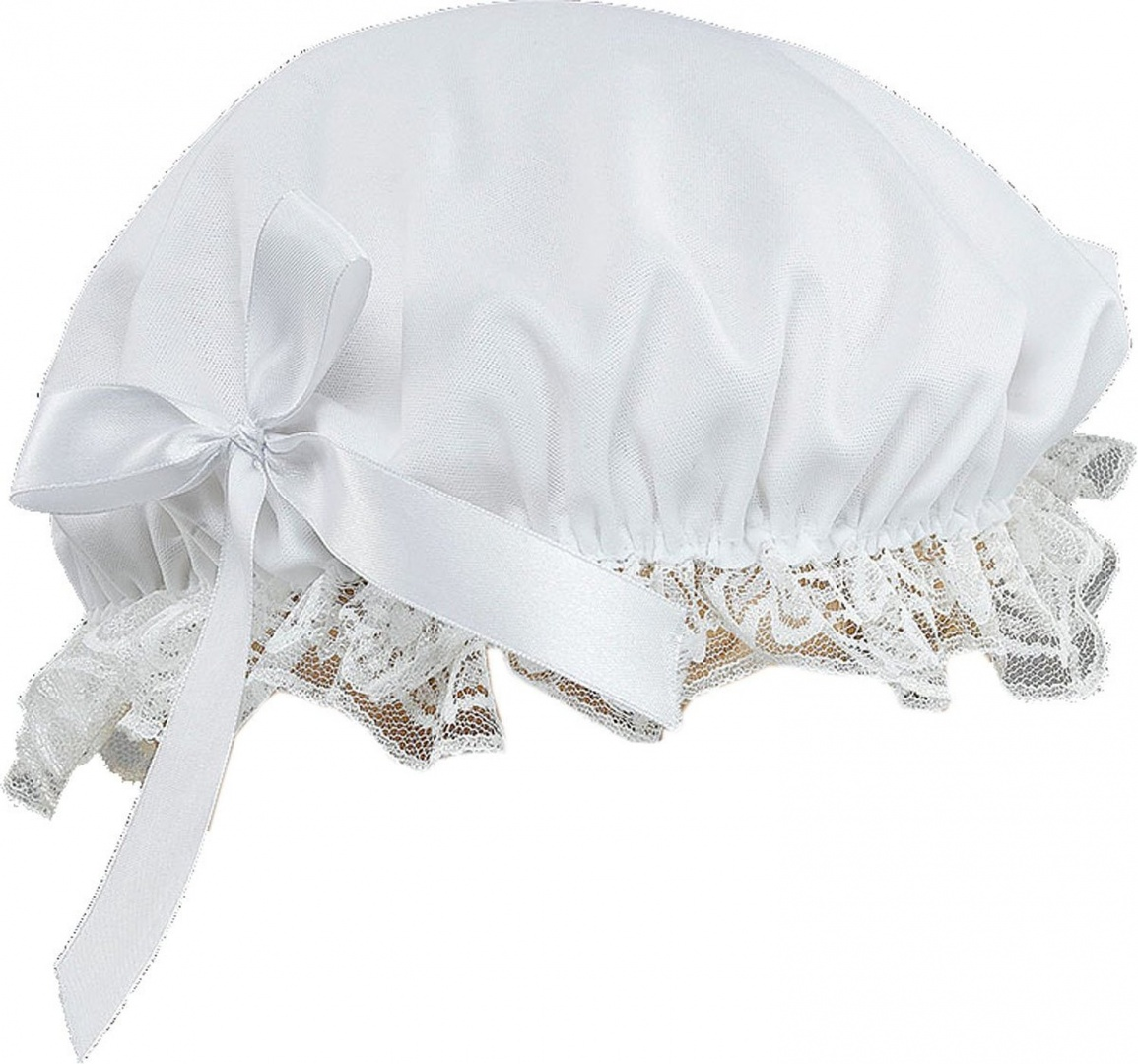 05752ef54080c Adult Fancy Club Party Maid Cleaner Victorian Lady Bonnet Hat With ...