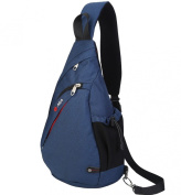 FreeMaster Sport Rucksack Shoulder Backpack Sling Chest Hiking Bag Cross Body Bags for Camping Gym Cycling Biking School Bag Small Backpack