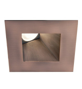 WAC Lighting HR-3LED-T518N-35CB Tesla - LED 7.6cm Wall Washer Square Trim, Cool Light, 3500K