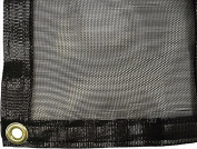 Greenhouse Shade Cloth System with 63% Shade Creation