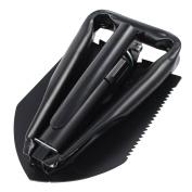 ASR Outdoor Tri Fold Steel Shovel Multi Functional Outdoor Use 60cm