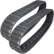 Two 15cm Rubber Tracks for Toro Dingo TX413 TX420 TX425