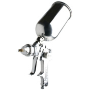 Sunex 9004A Gravity Feed Spray Gun with 1.4mm Needle, Nozzle, and Cap Set