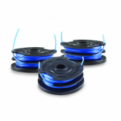 Toro 88528 3-Pack Dual Line Replacement Spool for 48-Volt Trimmer, 0.2cm