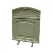 Suncast HHC150 Garden Hose Hanger with Storage Cabinet And 46m-Hose Capacity