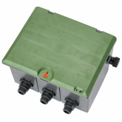 Gardena 1255 Sprinkler System Three Valve Box