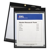 Magnetic Stitched Shop Ticket Holders Clear 12 X 9 25/box By