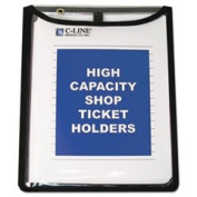 Shop Ticket Holders Stitched Both Sides Clear 9 X 12 15/bx By
