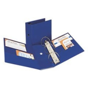Durable Binder With Two Booster Ezd Rings 13cm Capacity Navy Blue By