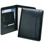High Quality Professional Padfolio - Includes Writing Pad, Pen Loop, Card & ID Slots, and Extra Pockets