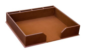 3200 Series Leather Conference Pad Holder in Rustic Brown - A3280