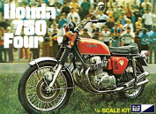 "MPC 1:8 Scale ""Honda 750 Four Motorcycle"" Model Kit"