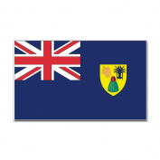 CafePress Turks Caicos Country Flag Rectangle Sticker Sticker Rectangle - 3x5