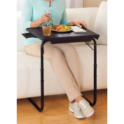 As Seen on TV Comfy Portable TV Table Tray with Cup Holder