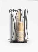 Iron Revolving Wire Cup/Lid Organiser