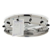 Carlisle 3812CH Stainless Steel Ceiling-Mount Order Wheel with 12 Clips, 36cm Dia. x 10cm - 1.3cm H
