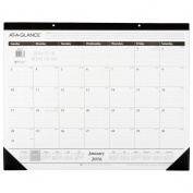 At-A-Glance Classic Monthly Desk Pad Calendar