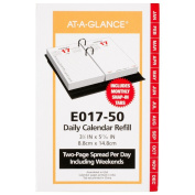 AT-A-GLANCE Daily Desk Calendar 2016 Refill, 12 Months, 8.9cm x 15cm Page Size
