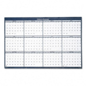 Reversible/Erasable Yearly Wall Calendar