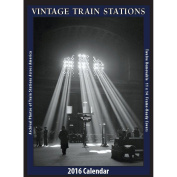 Vintage Train Stations 2016 Poster Calendar by Asgard Press