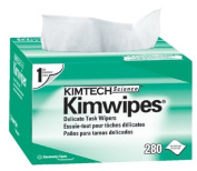 Kimtech Science® Kimwipes® Delicate Task Wipers - 11cm x 22cm white kimwipesex-l 1-ply 280/b