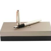 Parker Sonnet Pearl Chiselled Medium Fountain Pen