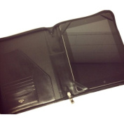 Bosca Leather Amber Zip Around iPad Case