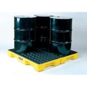 Eagle Four Drum 0l Capacity) Polyethylene Modular Spill Containment Platform