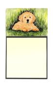 Golden Retriever Refiillable Sticky Note Holder or Postit Note Dispenser SS8476SN