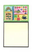 Blue Heron Refiillable Sticky Note Holder or Postit Note Dispenser 8104SN