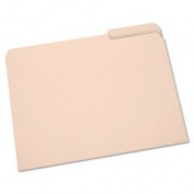 7530002822507 Light-Duty File Folder, 1/3 Cut, Letter, Manila, 100 Fil