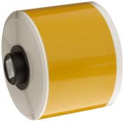 Brady - 42065 - Reflective Yellow Vinyl Label Tape Cartridge, Indoor/Outdoor Label Type, 10m Length, 2 Width