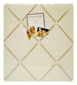 Newview A602-20 Ivory Twill Memo Board