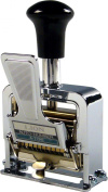 Lion Pro-Line Heavy-Duty Lever-Action Numbering Machine, 10-Wheel, 1 Numbering Machine