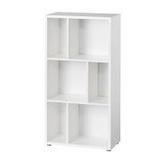 Tvilum Twist 120cm Tall Bookcase