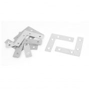 10pcs Flat L Shaped Angle Corner Brace Plate Repair Bracket 60mmx60mmx15mm