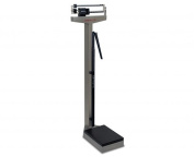Detecto 439S Eye Level Physician Mechanical Beam Scale-Stainless Steel