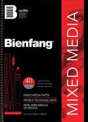 (Price/PD)Bienfang 220100 14cm x 22cm Mixed Media Paper Pad