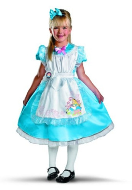 Disney Alice Deluxe Child Costume, Child M(7-8)