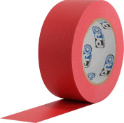 ProTapes 46 Crepe Paper Masking Tape, 60 yds Length x 1.3cm Width, Red