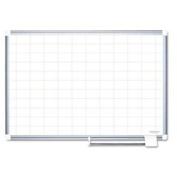 Grid Planning Board 2x3 Grid 72x48 White/silver By