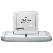 Horizontal Baby Changing Station 35 3/16 X 22 1/4 Cream By