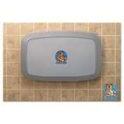 Horizontal Baby Changing Station Grey By