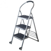 Step Ladder Folding Cart Furniture Dolly Finish