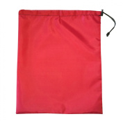 NielsenProducts Shoulder Dolly Accessory Carrying Bag 4270 Red Fabric Drawstring