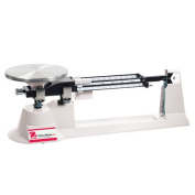 Ohaus TJ611 Triple Beam Balance W/ Stainless Steel Plate 610 g Cap