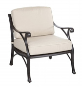 Biscay Cast Aluminium Deep Seating Chair
