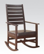 Cappuccino PU Rocking Chair by Acme Furniture